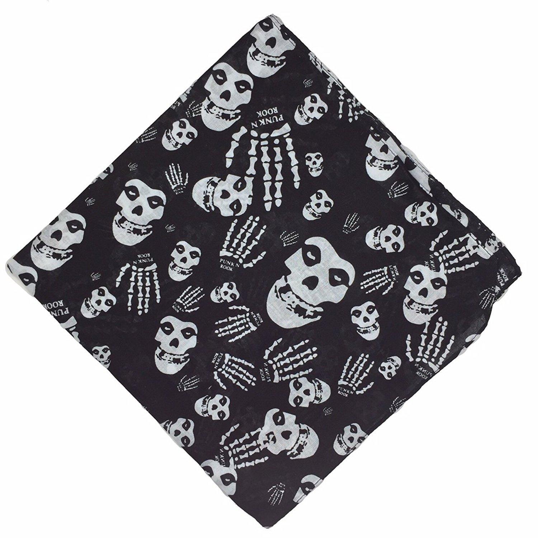 100-Cotton-Paisley-Bandana-Bandanna-Headwear-Scarf-Neck-Wrist-Wrap-Band-Headtie thumbnail 11