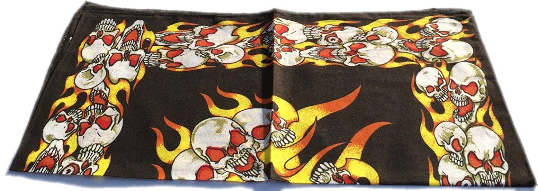 100-Cotton-Paisley-Bandana-Bandanna-Headwear-Scarf-Neck-Wrist-Wrap-Band-Headtie thumbnail 17