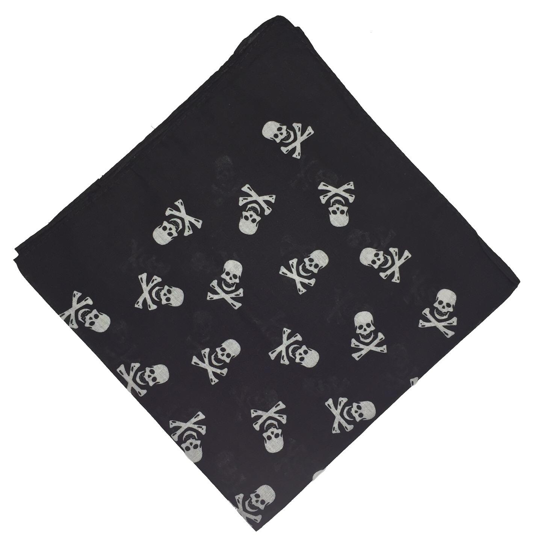 100-Cotton-Paisley-Bandana-Bandanna-Headwear-Scarf-Neck-Wrist-Wrap-Band-Headtie thumbnail 27