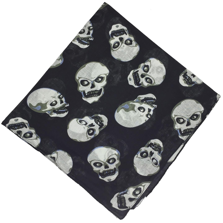100-Cotton-Paisley-Bandana-Bandanna-Headwear-Scarf-Neck-Wrist-Wrap-Band-Headtie thumbnail 33