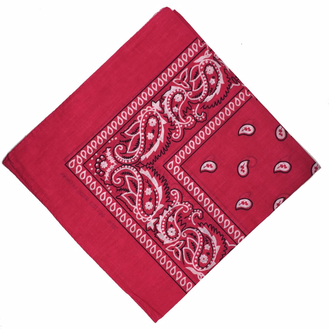 100-Cotton-Paisley-Bandana-Bandanna-Headwear-Scarf-Neck-Wrist-Wrap-Band-Headtie thumbnail 61
