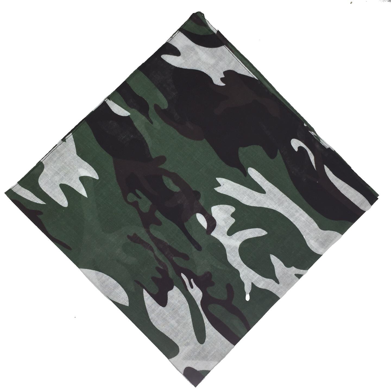 100-Cotton-Paisley-Bandana-Bandanna-Headwear-Scarf-Neck-Wrist-Wrap-Band-Headtie thumbnail 67