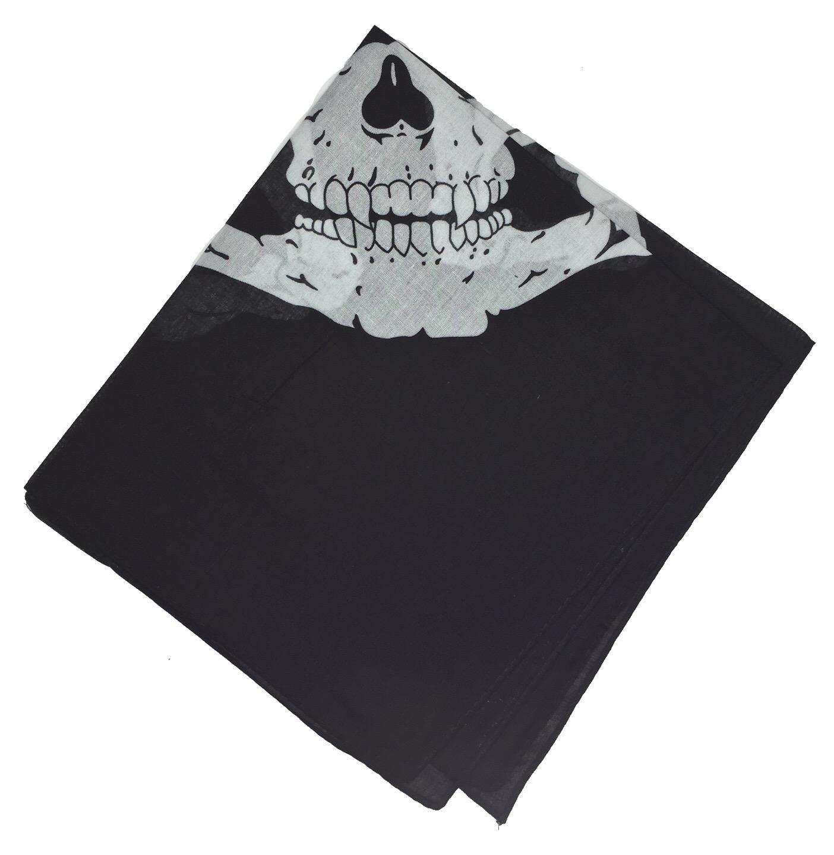 100-Cotton-Paisley-Bandana-Bandanna-Headwear-Scarf-Neck-Wrist-Wrap-Band-Headtie thumbnail 111