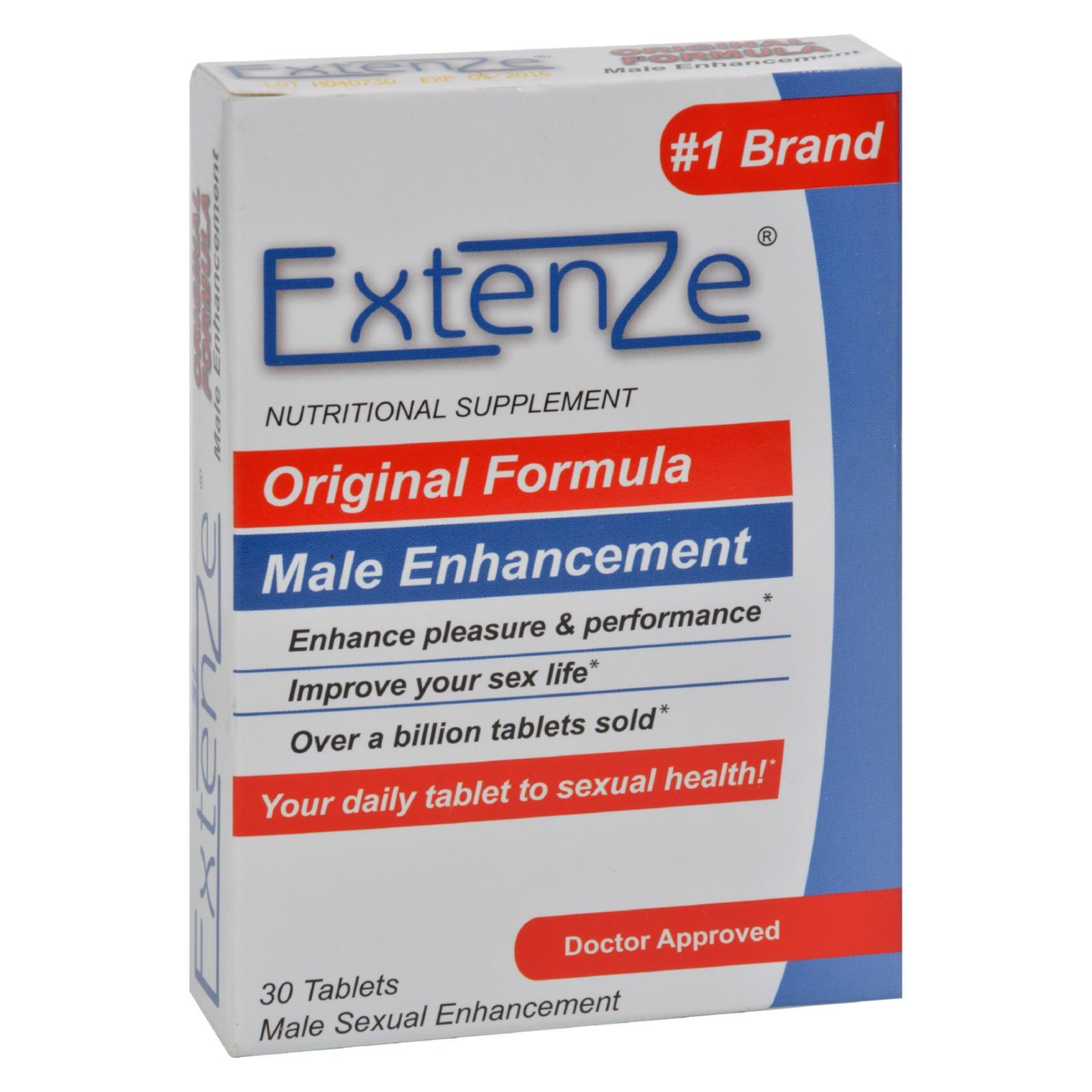 Extenze Male Enhancement 30 Tablets Ebay