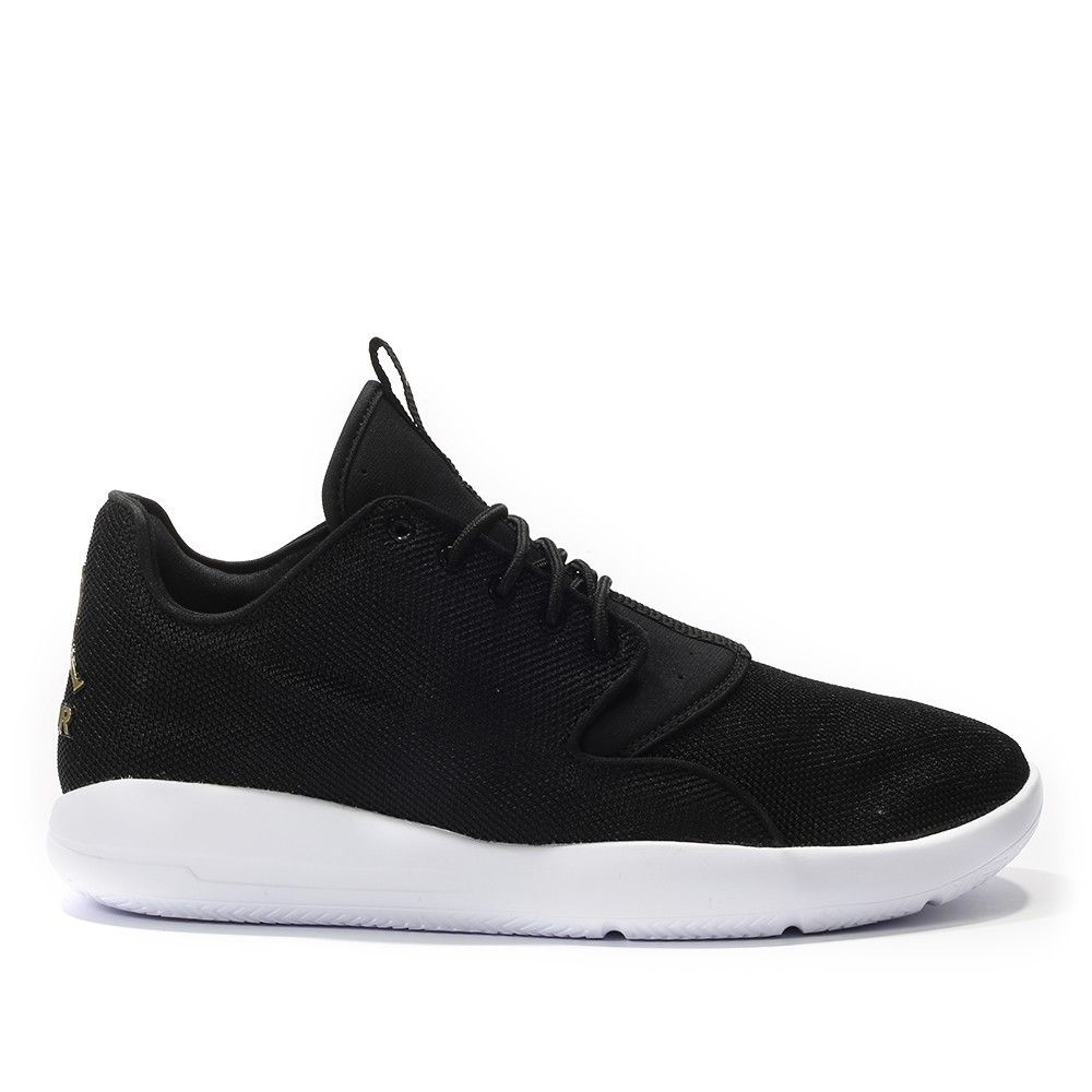 huge discount 0439e 98c57 Mens-Jordan-Eclipse-Trainers-Black-White-Gold-Casual-