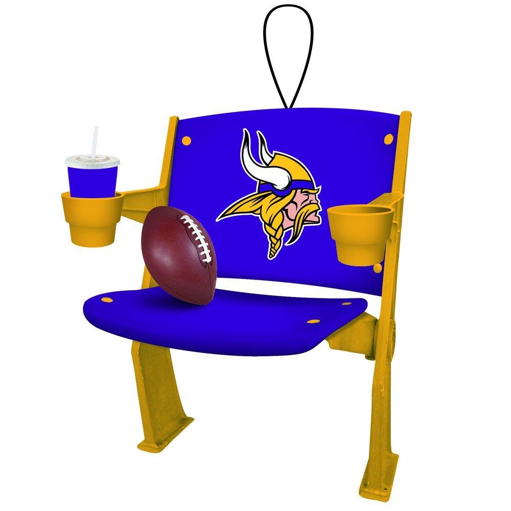 7f0af4a03 Minnesota Vikings Stadium Chair Ornament 808412161254