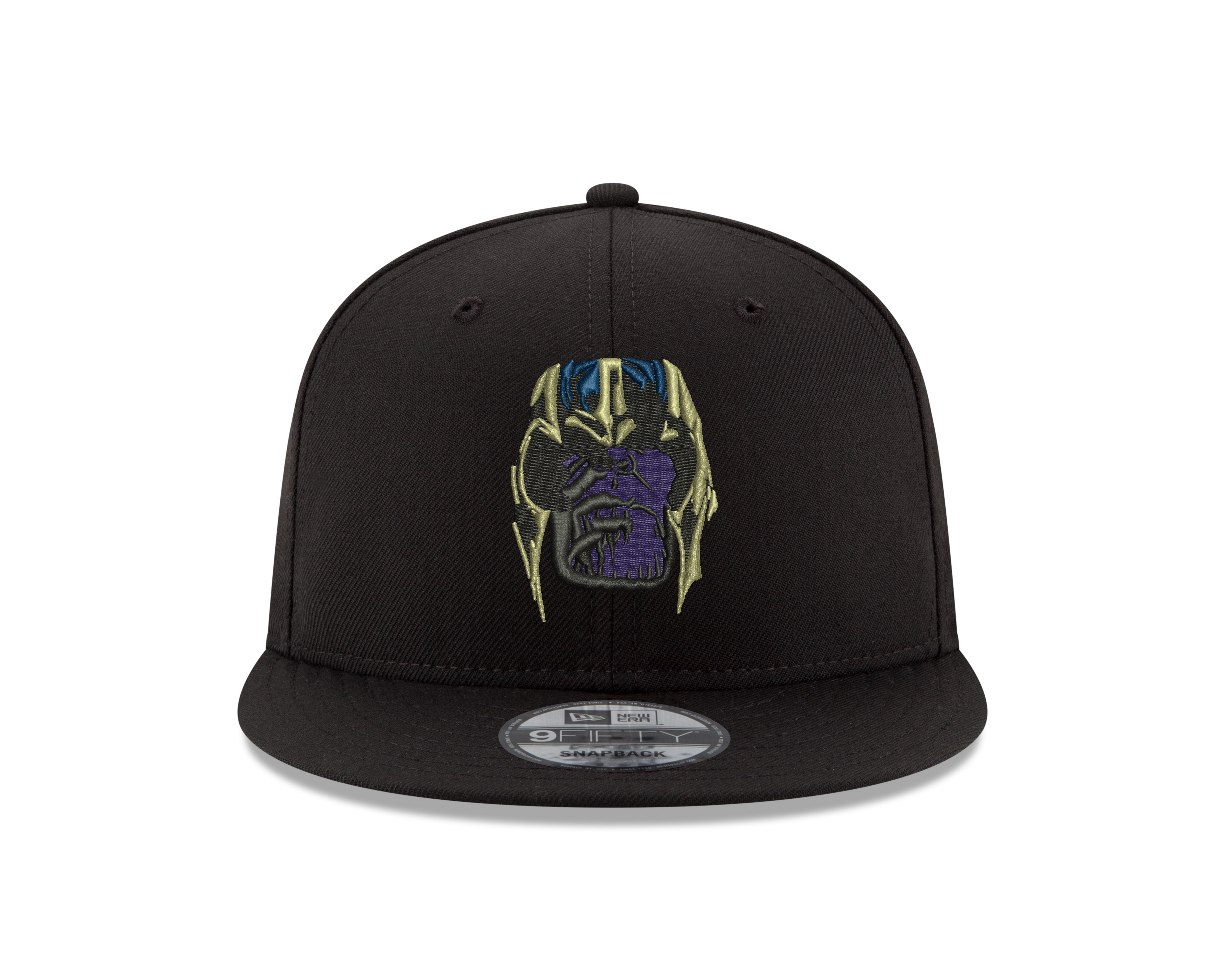 c01b02889fff4 Details about New Era Marvel Avengers Endgame Thanos Snapback Hat 9FIFTY  Infinity War Adult