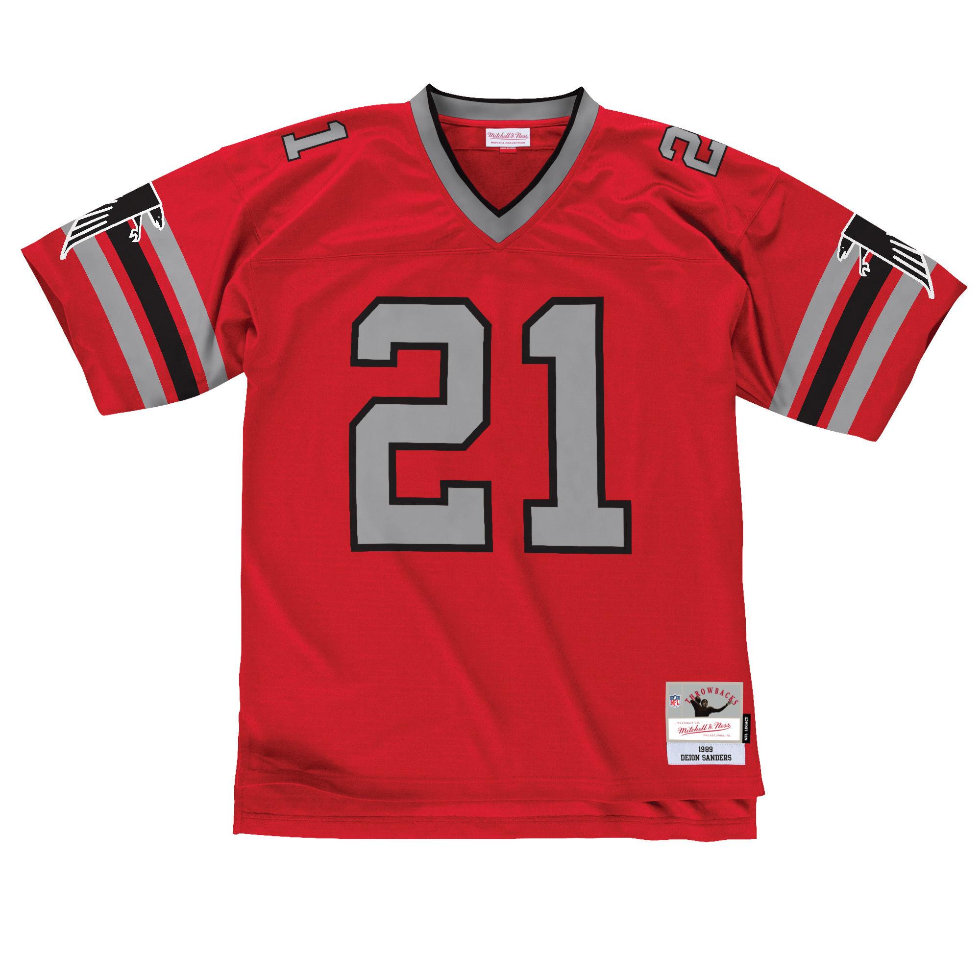 Atlanta Falcons Deion Sanders  21 Legacy Jersey d9fe2b662