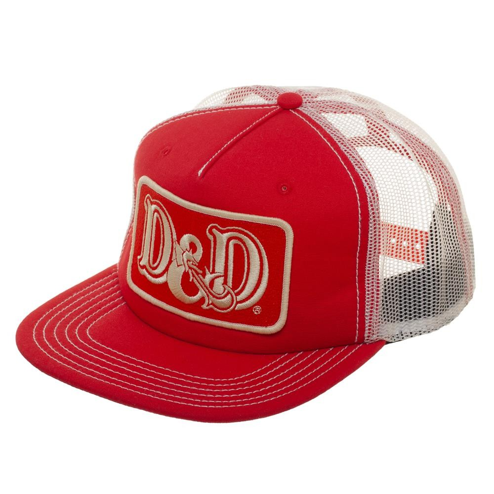b5d24cfe6e2 Details about Dungeons   Dragons Patch Red Snapback