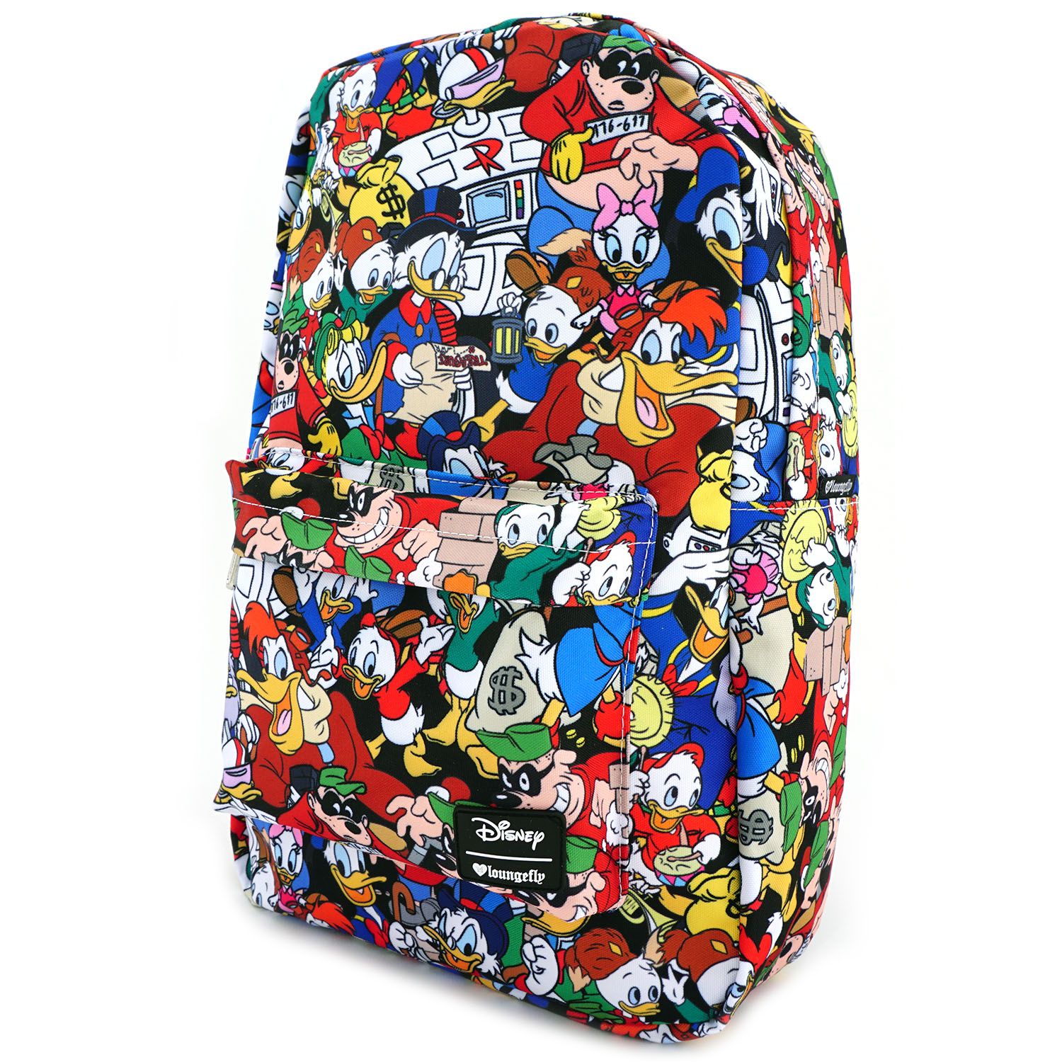 5be74072b6 Loungefly x Duck Tales Characters AOP Print Backpack 671803264878