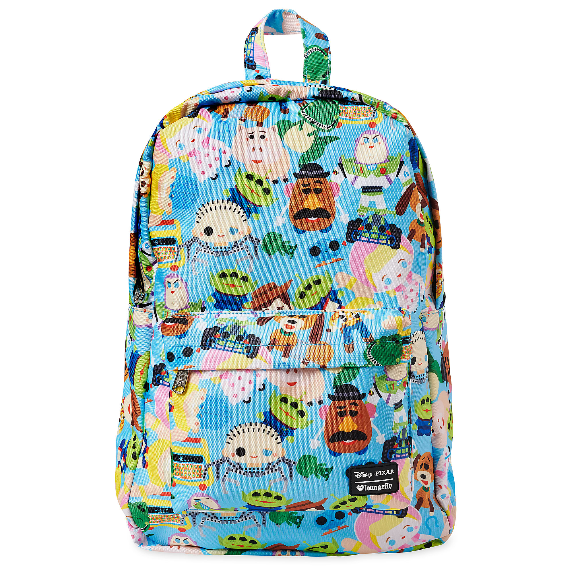 d83dee8f4be Details about Loungefly x Disney Toy Story Chibi AOP Backpack