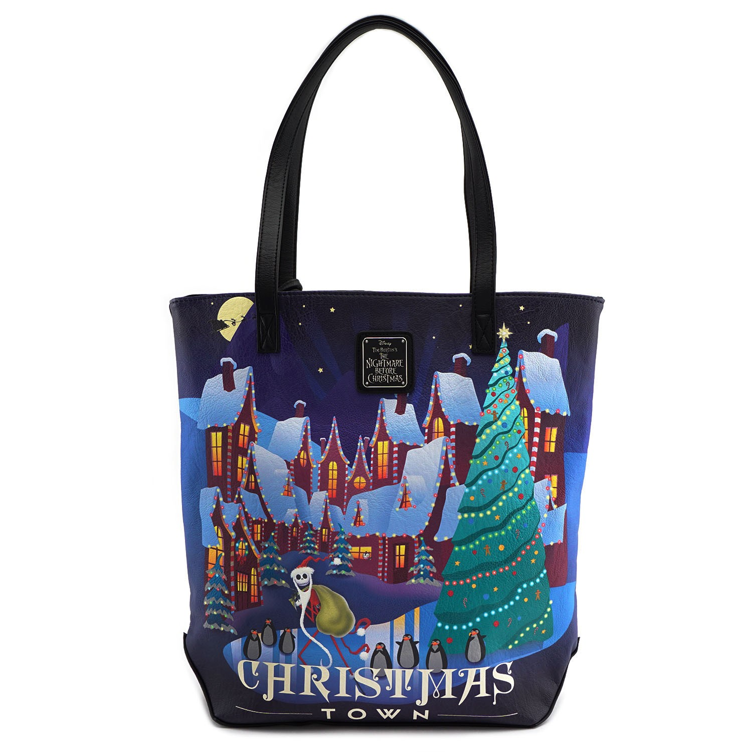 Loungefly x The Nightmare Before Christmas Halloween/Christmas Town ...