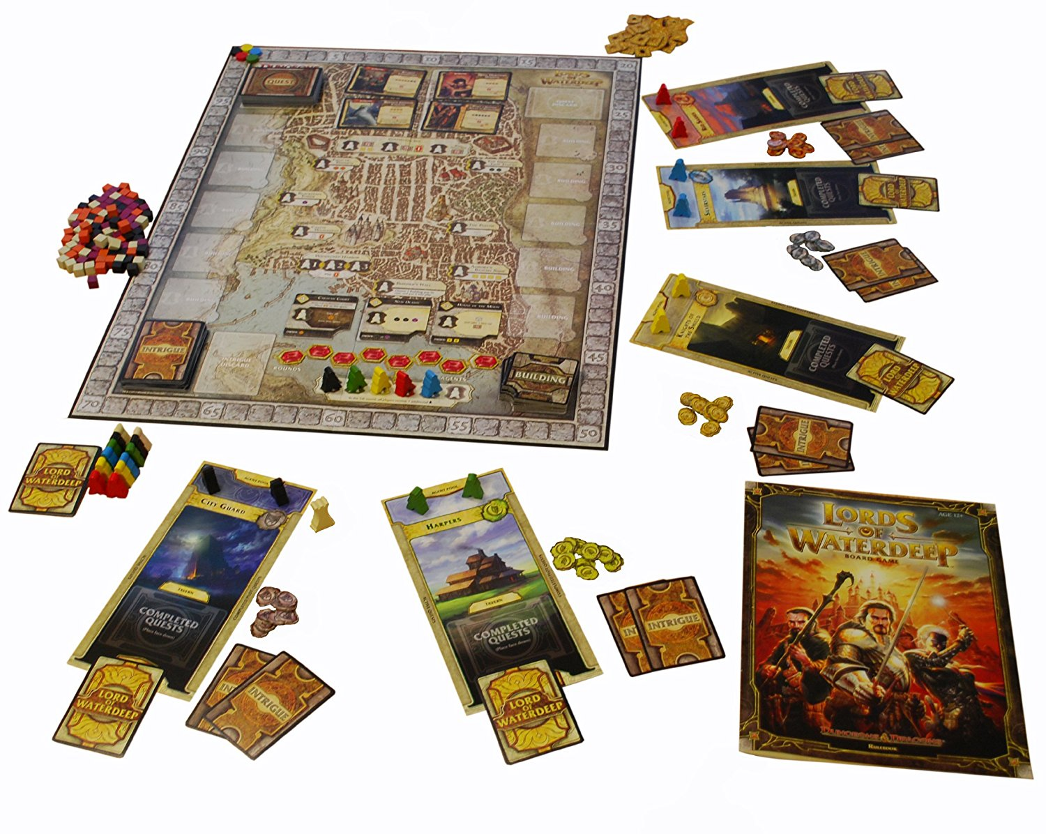 Dungeons And Dragons Lords Of Waterdeep Board Game Ebay