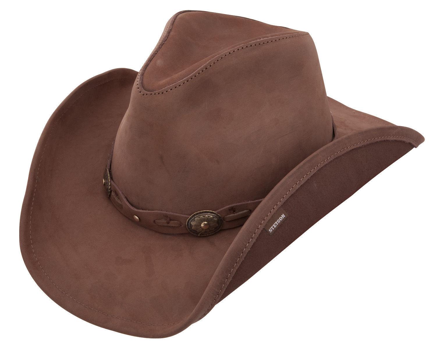 Leather Bush Hats