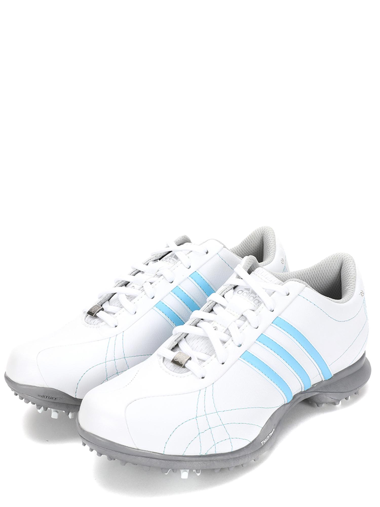 Adidas Women's Signature Natalie Golf Shoes 671468 White/Blue SZ 5