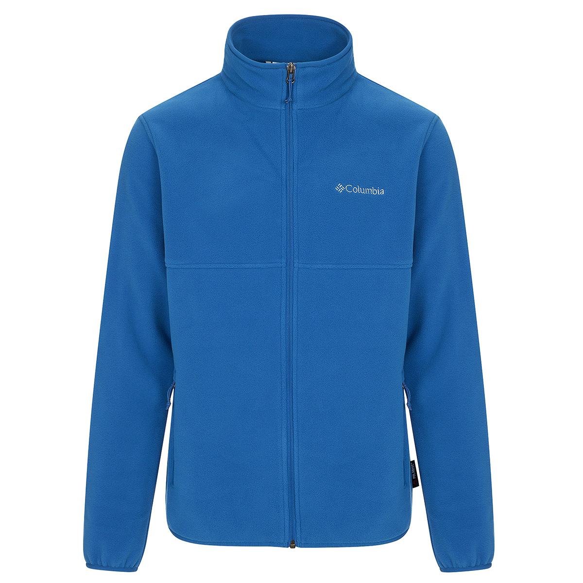Columbia Menu0026#39;s Fuller Ridge Fleece Jacket 1644091 Pond Super Blue | EBay