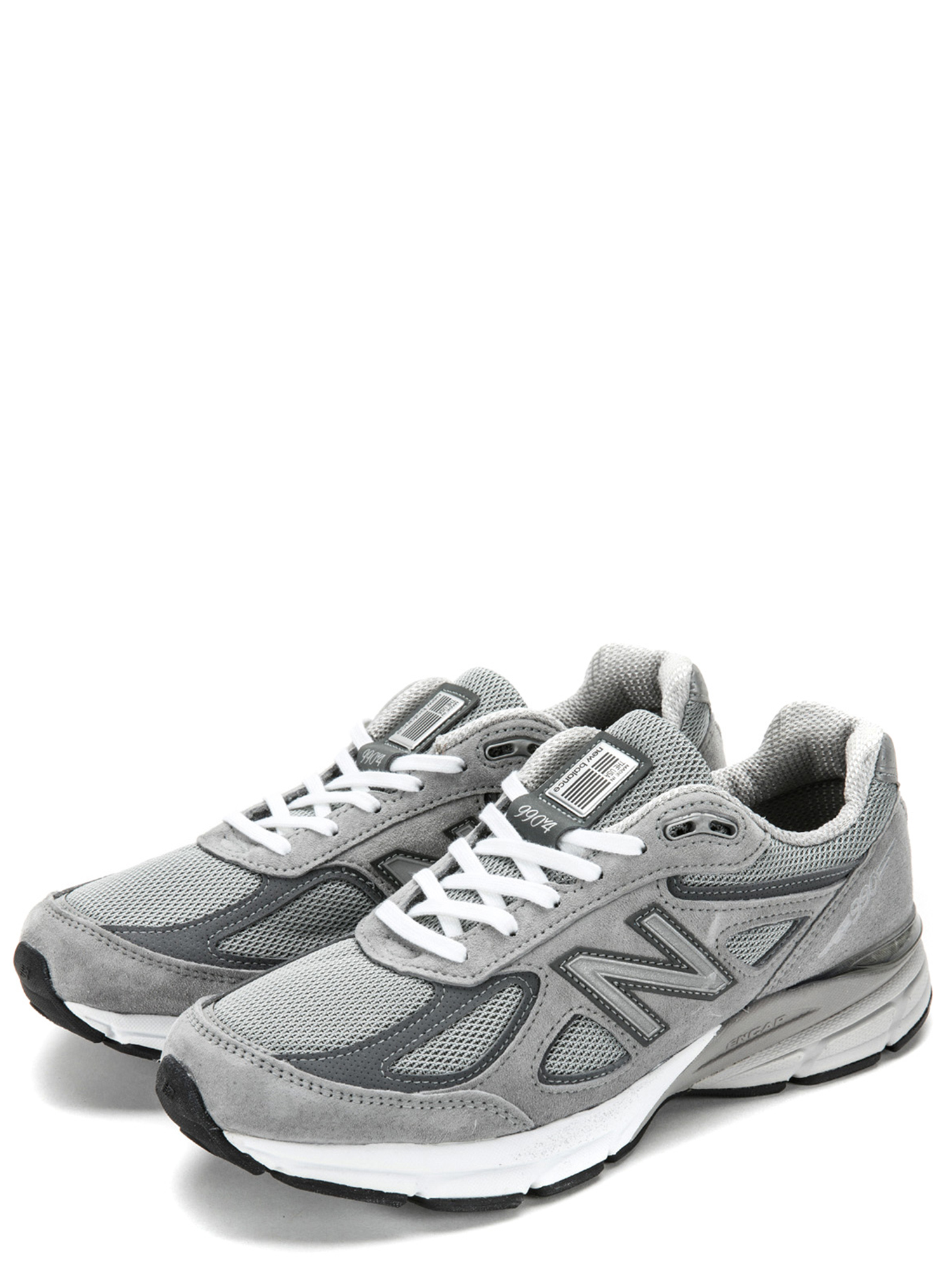 best authentic 06979 dfa35 Details about New Balance Men's 990v4 Sneakers M990GL4 Grey w/ Castlerock