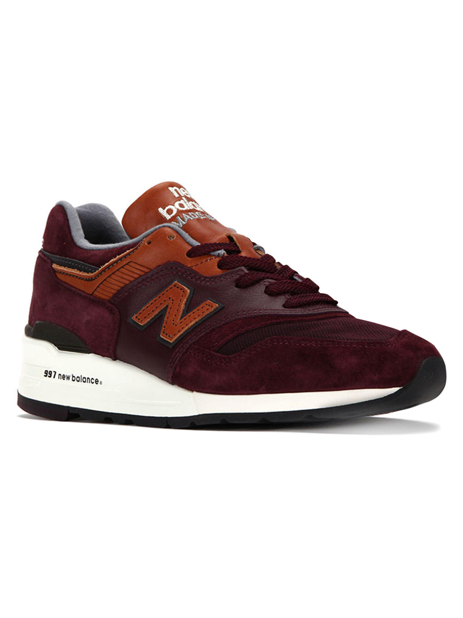 new balance 997 dslr burgundy