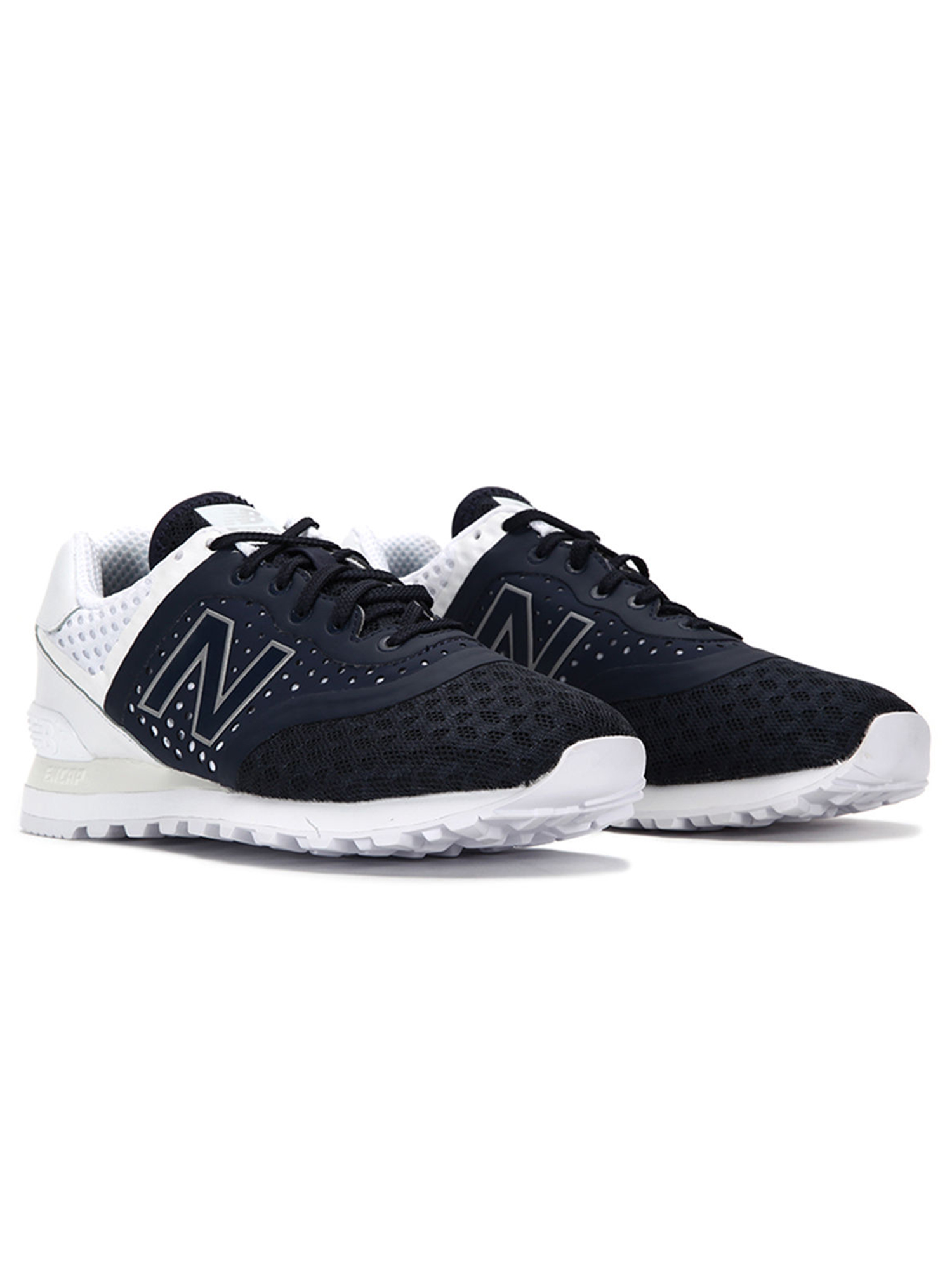new balance 574 trainers in blue mtl574mn