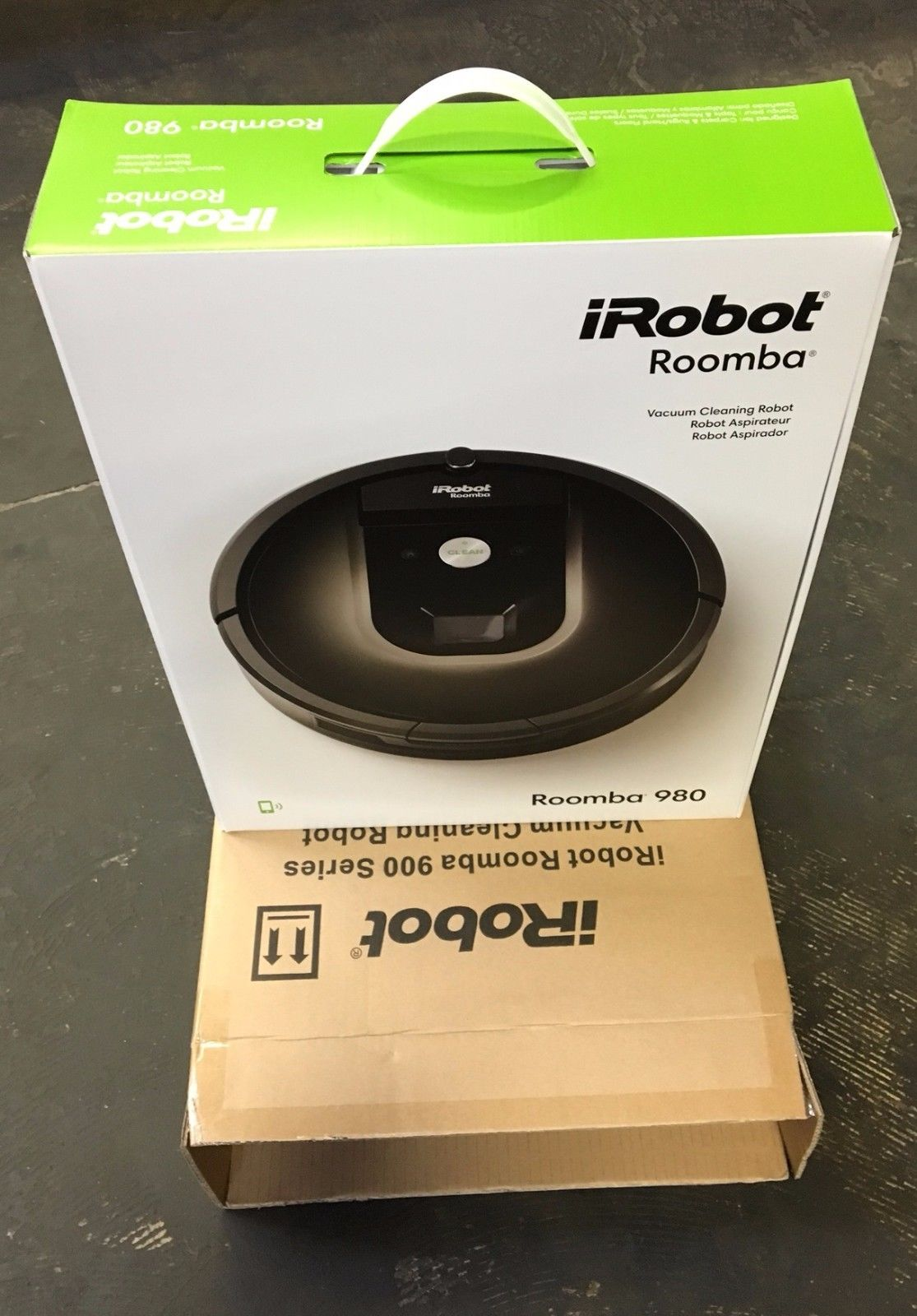 iRobot Roomba 980 Vacuum Cleaning Robot - Pet - R980020 - Brand ...