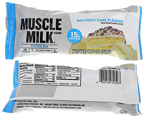 Cytosport Muscle Milk Blue Bar Variety 12 Count