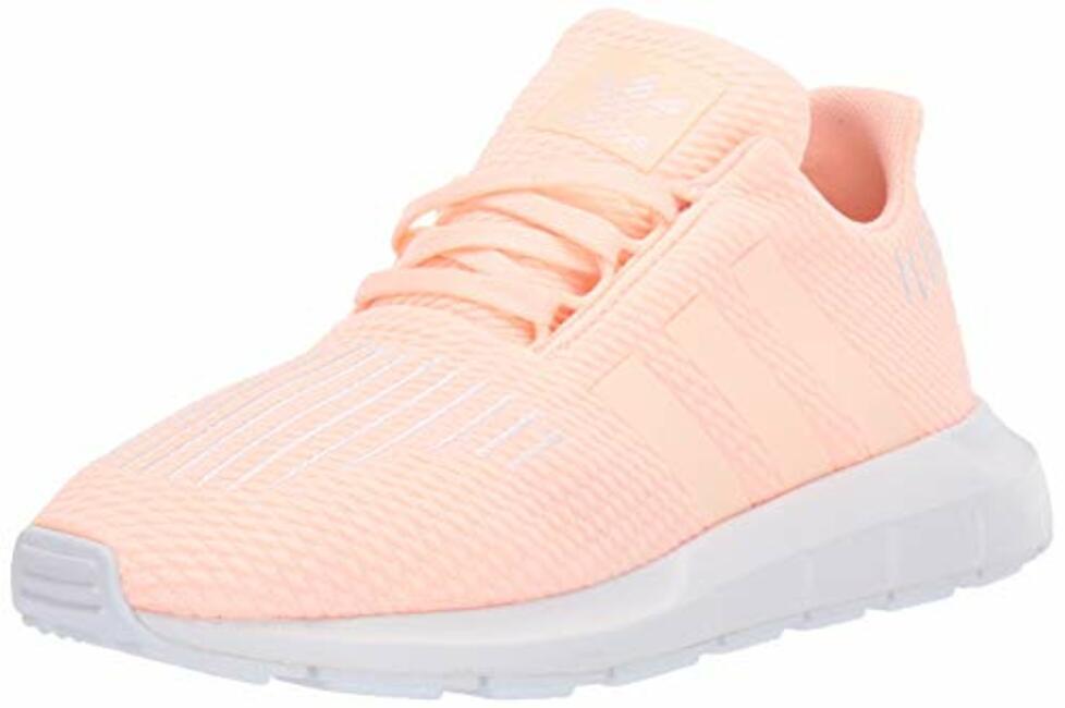 6d4e7c0e1 adidas Originals Unisex Swift Running Shoe Clear Orange Weiss-Schwarz White  4.5 M US Big Kid