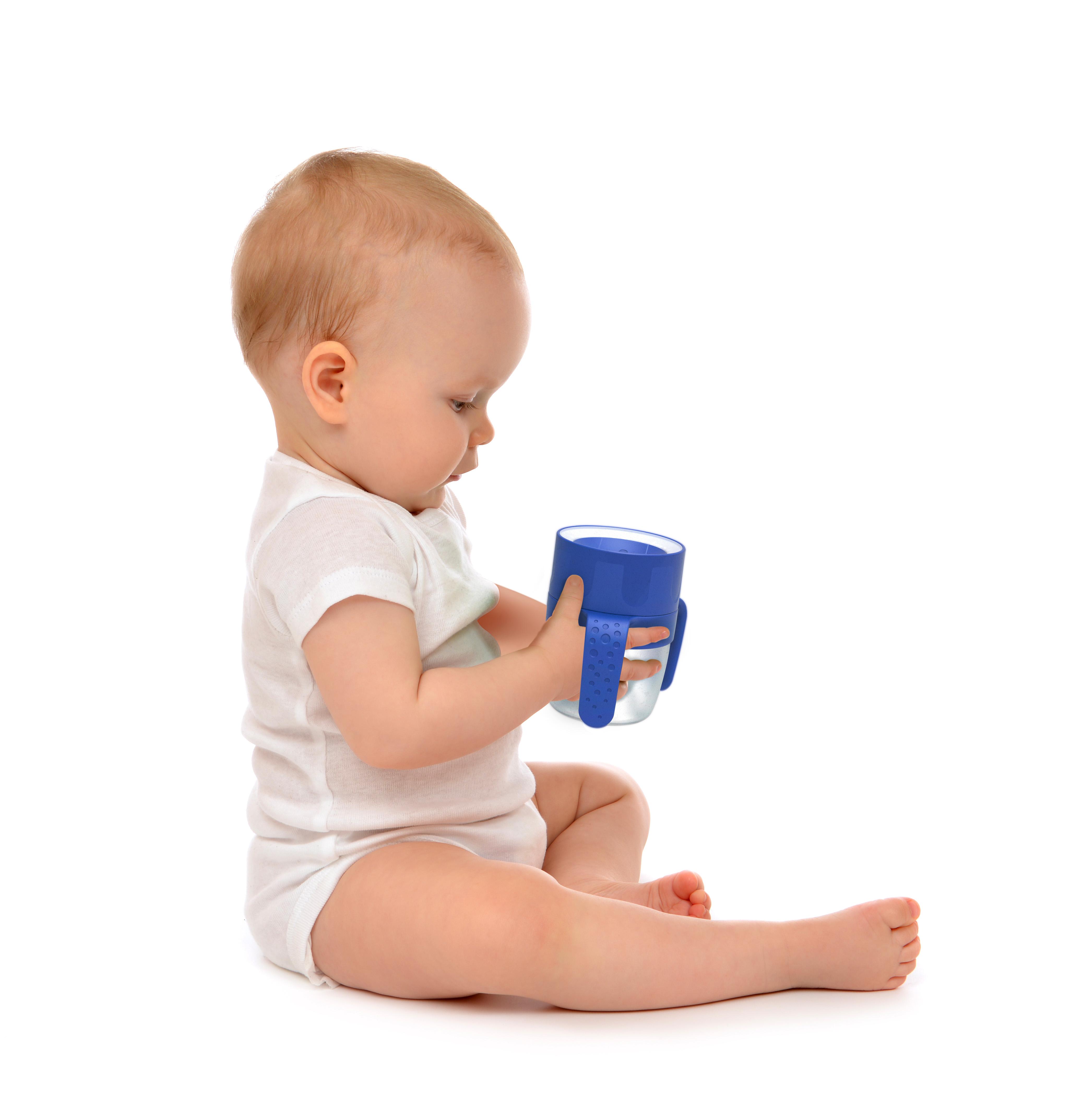 200ml 360° Drinking Edge Non Spill Litecup Baby Sippy Cup Nightlight