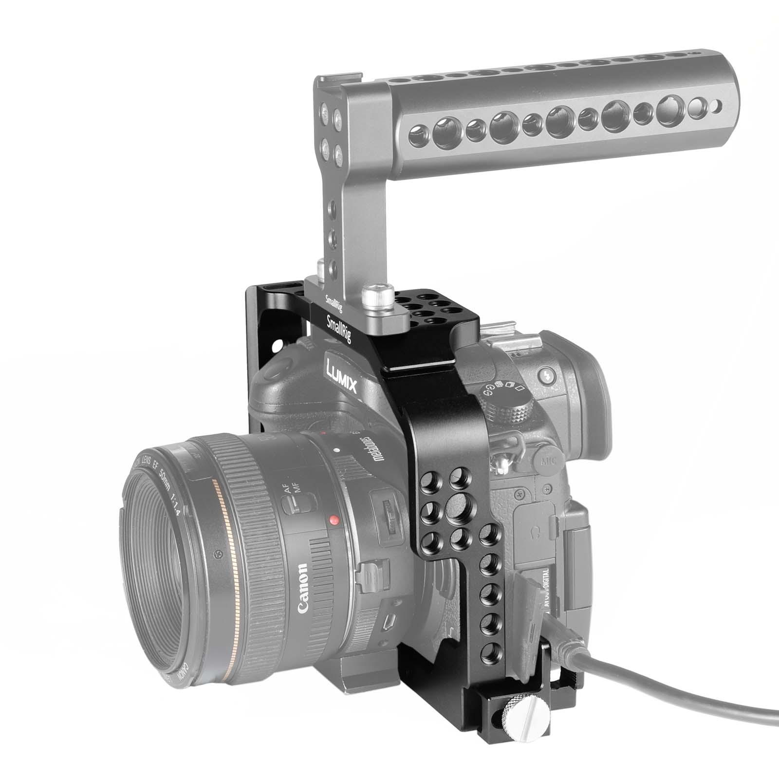 Smallrig Panasonic Gh4 Gh3 Cage For Lumix Dmc Gh3sony Wasabi Blf19 Battery Kit Gh5 Items Description
