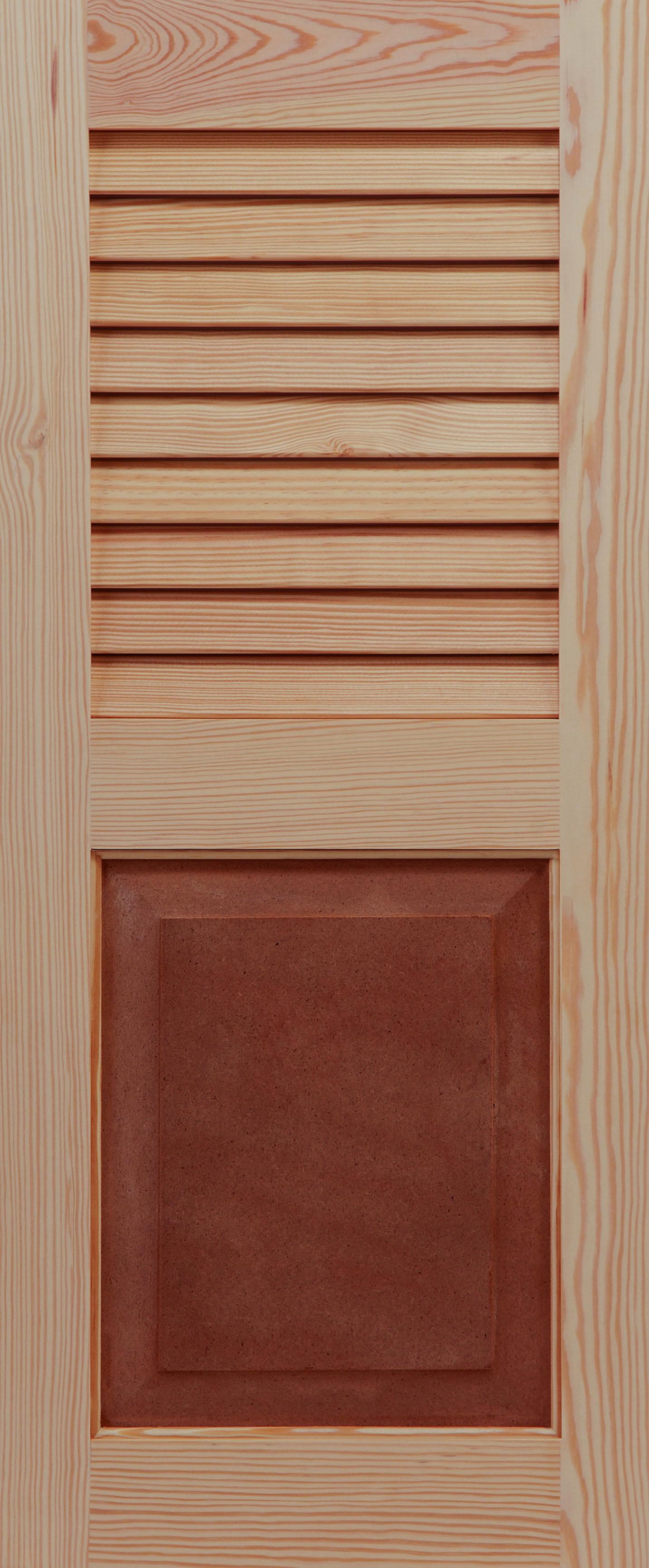America Shutters Custom Pine Louvered Exterior Shutter-primed 39 12 ...