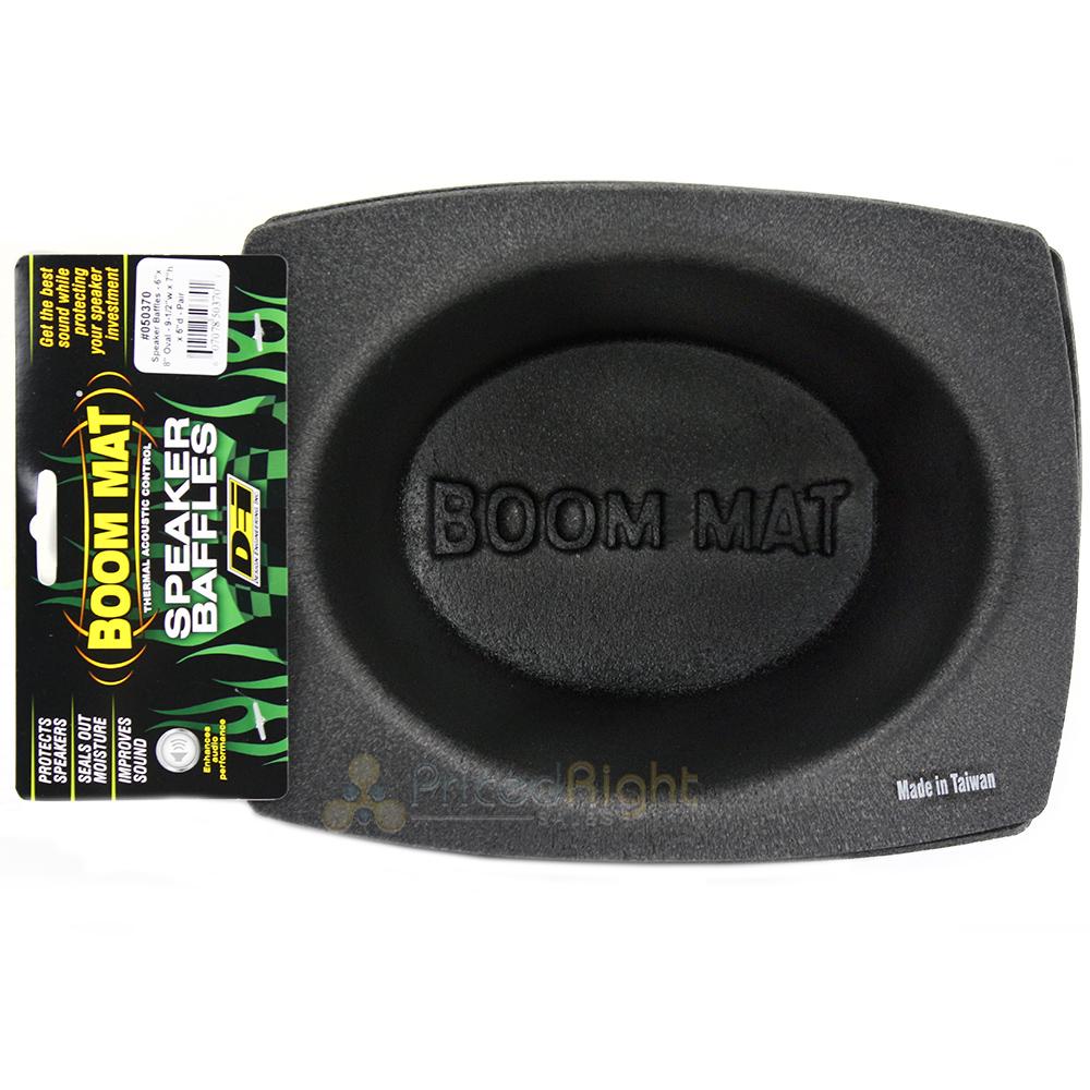 "DEI 050370 Oval Speaker Baffle Boom Mat 6/"" x 8/""  Pack of 2"