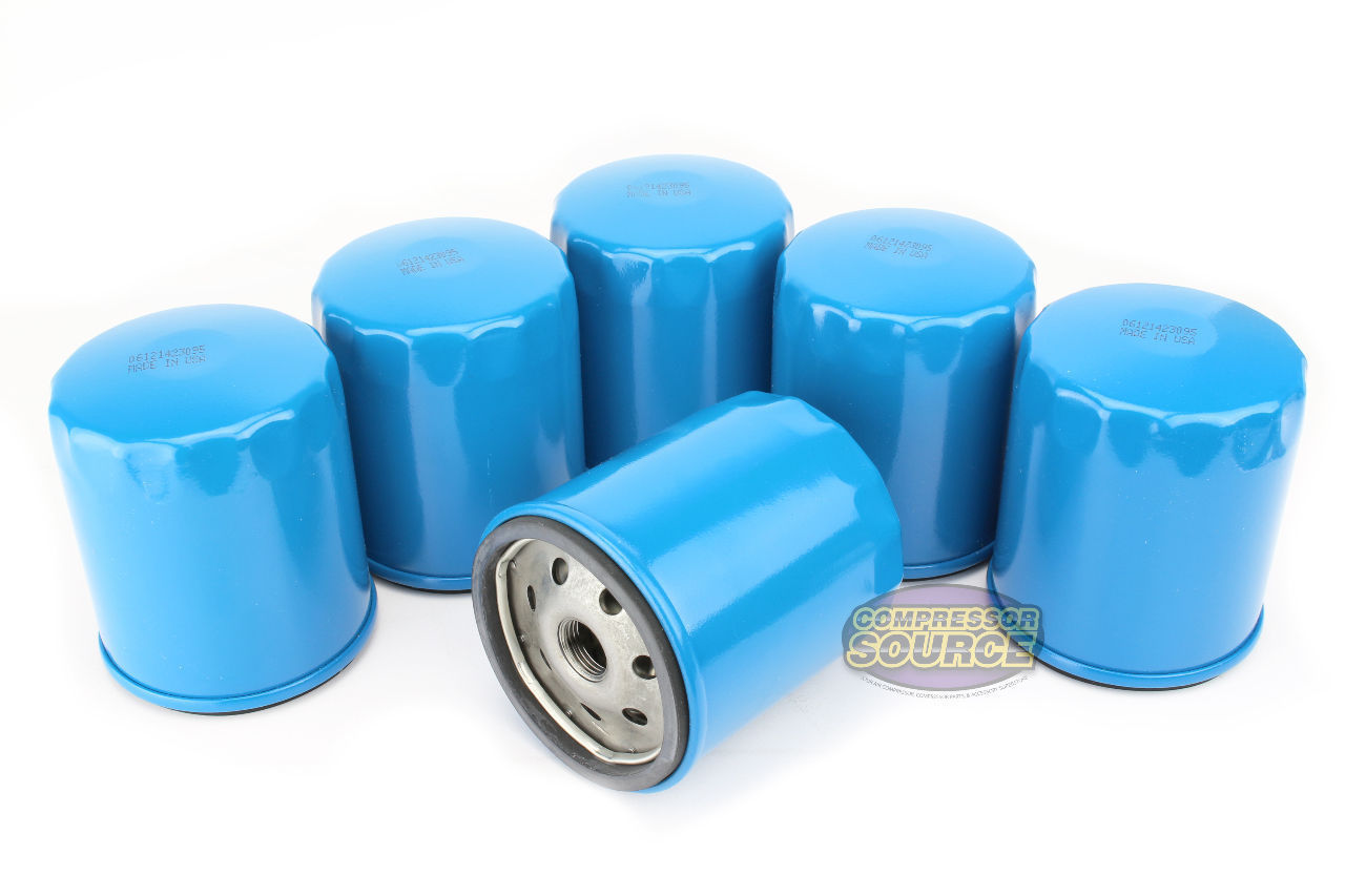 6 Pack Quincy Oil Filter Elements Part 110814 001 For Qr