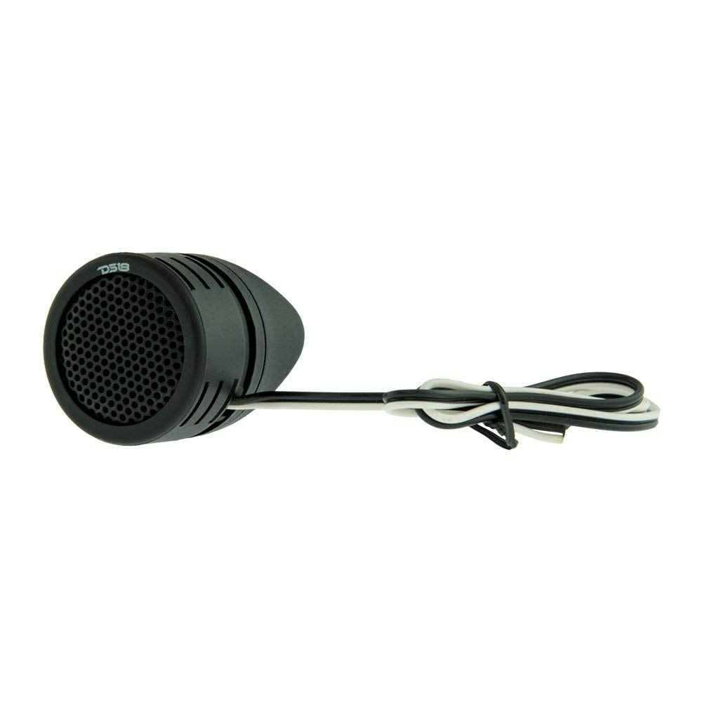 """4 DS18 TWPZ 1/"""" Inch Mirco Dome Tweeters 4 Ohms 80 Watts Max Built In Crossover"""