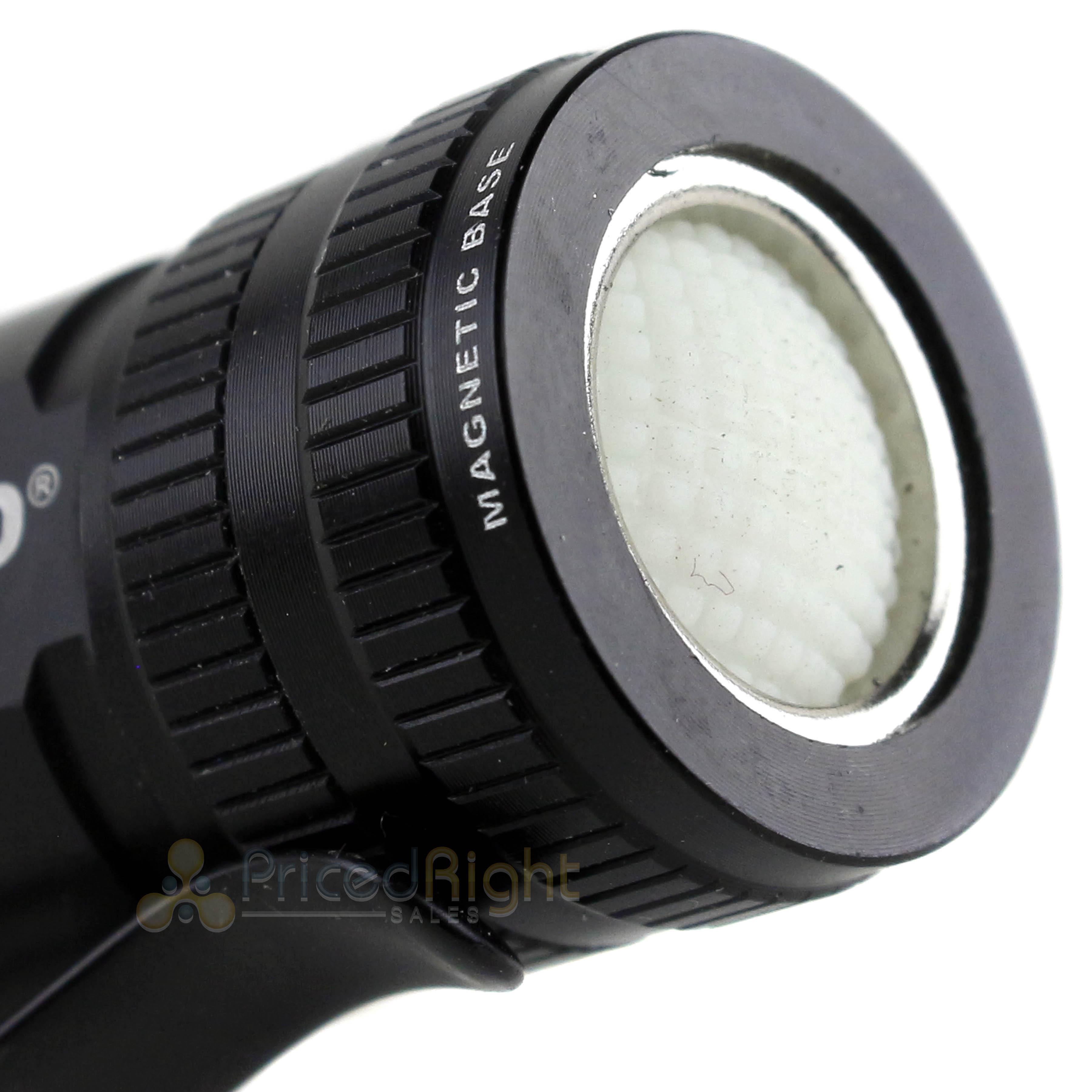 NEBO 6272 Micro Redline OC 360 lux pocket handheld flashlight 6x zoom clip