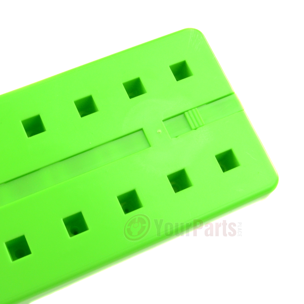 "6 GRIP 1//2/"" 1//4/"" 3//8/"" Socket Tray Holder Metric SAE Organizer Universal Green"