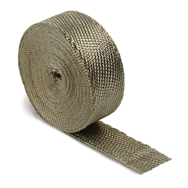 "Titanium Exhaust Header Pipe Heat Wrap 2/"" x 50/' Roll 2500°F DEI 010127"