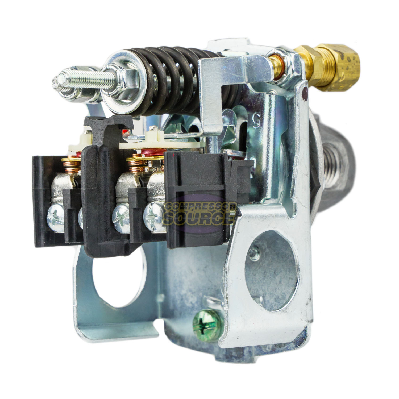 Square D 4 Port 135-175 PSI Air Compressor Pressure Switch 9013FHG44J59M1X for sale online