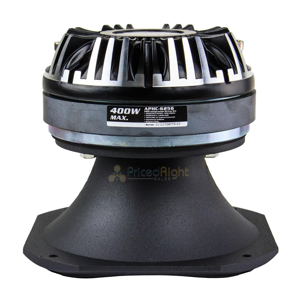"AUDIOPIPE APHC-6256 Audiopipe Pro Compressor Driver Kit 400W 6.2/"" Each"