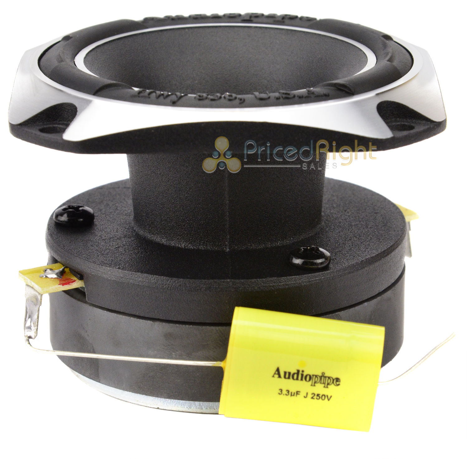 Audiopipe Atr 3231 3 Heavy Duty Titanium Super Tweeter 350 Watts Amplifier Power Wiring Install Kit Sub Subwoofer Bullz Audio Epak8r Each Set Of 2