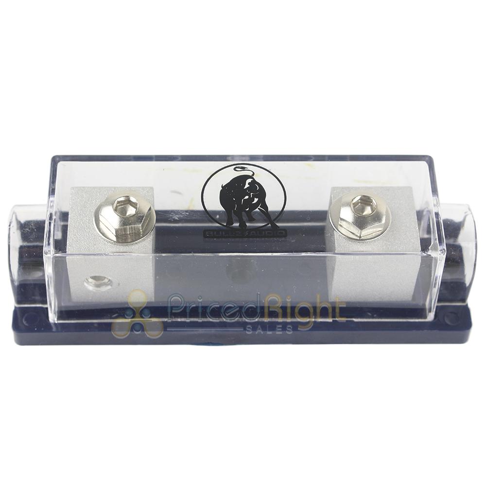2 Gauge Inline ANL Fuse Holder Platinum 150 Fuse Bullz Audio BANL2010P