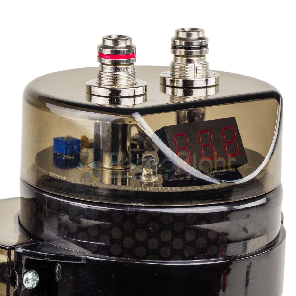 5.5 Farad Capacitor Bullz Audio BCAP5.5 5500 Watts Power 12V Car Digital Power