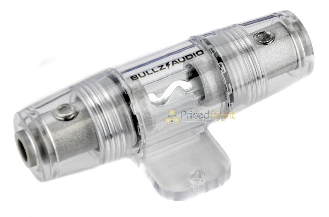 2) Bullz Audio EPAK8R 8 Gauge Amplifier Amp Installation Power ...