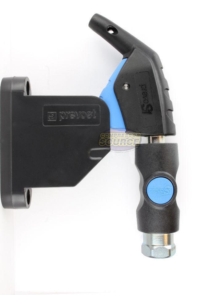Details about Prevost PrevoS1 Wall Mount Blow Gun Holder Rack BG FIX  Bracket Compressed Air