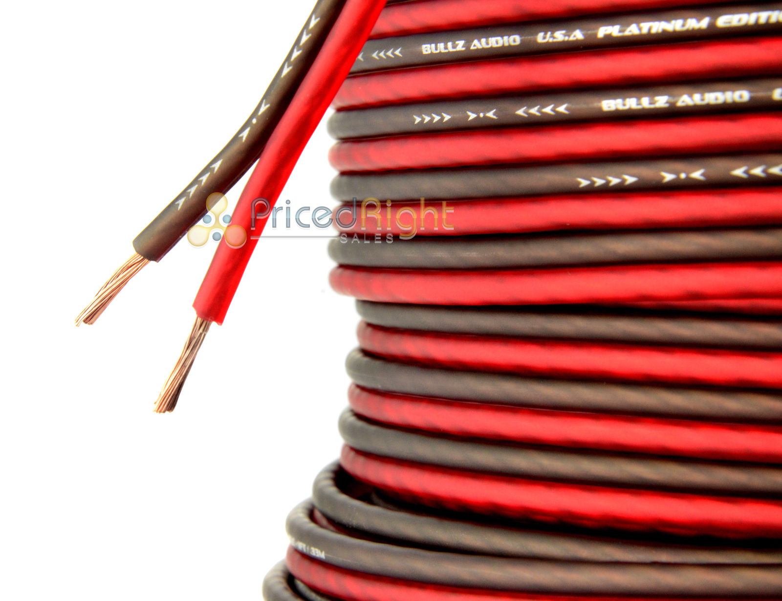 20 Ft 14 Gauge Professional Gauge Speaker Wire / Cable Car Home ...