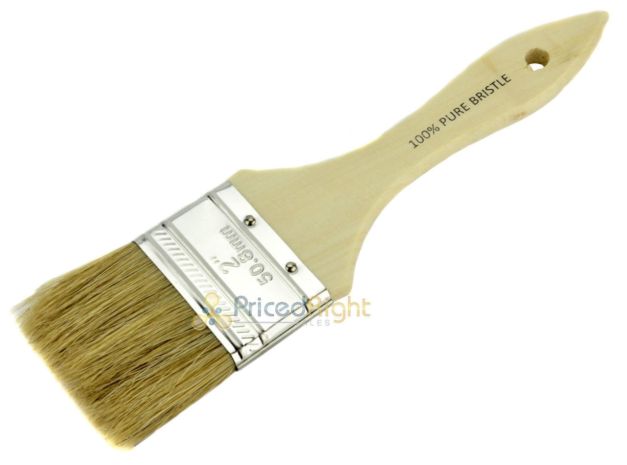 """24 Pack 1 Inch /& 2/"""" Chip Paint Brush Disposable Adhesive Fiber Glass Resin Combo"""