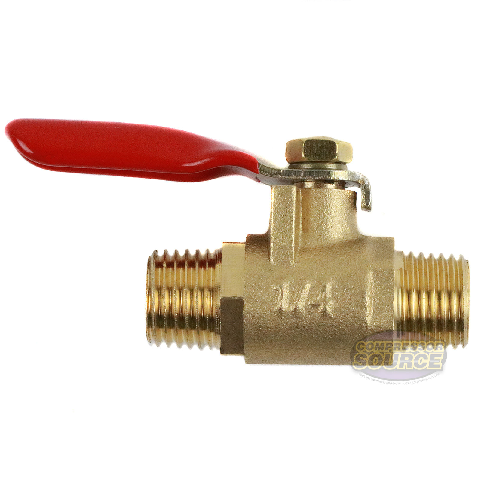 1 4 Quot Male Male Npt Brass Ball Valve Water Moisture Air