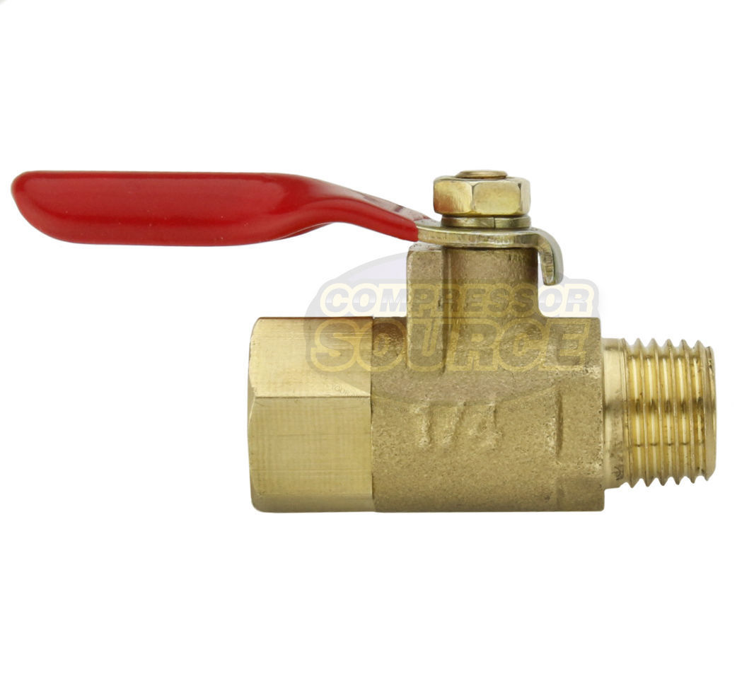 1 4 Quot Male Female Npt Brass Ball Valve Water Moisture Air