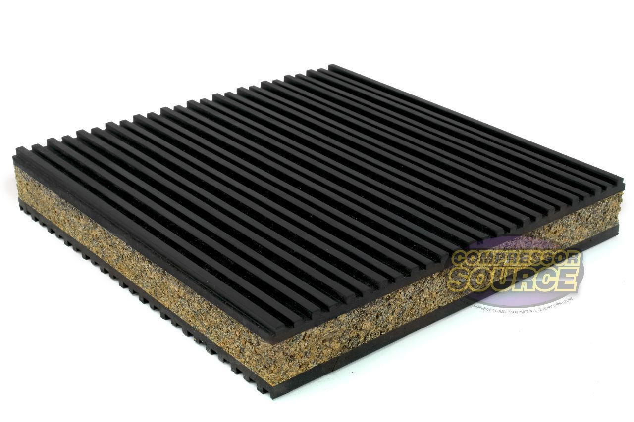 New Anti Vibration Pad Isolation Dampener Industrial Heavy Duty 6x6x7//8  Cork