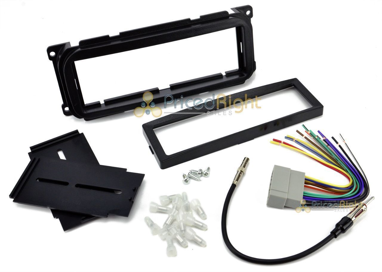 Car Stereo Radio Cd Player Dash Installation Mounting Trim Kit W Changer Wire Harness
