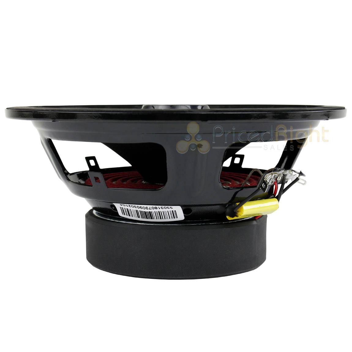 "2 Pack 8/"" Midrange Speaker Built In Tweeter 550 Watts Max 4 ohm DS18 PRO-ZT8"