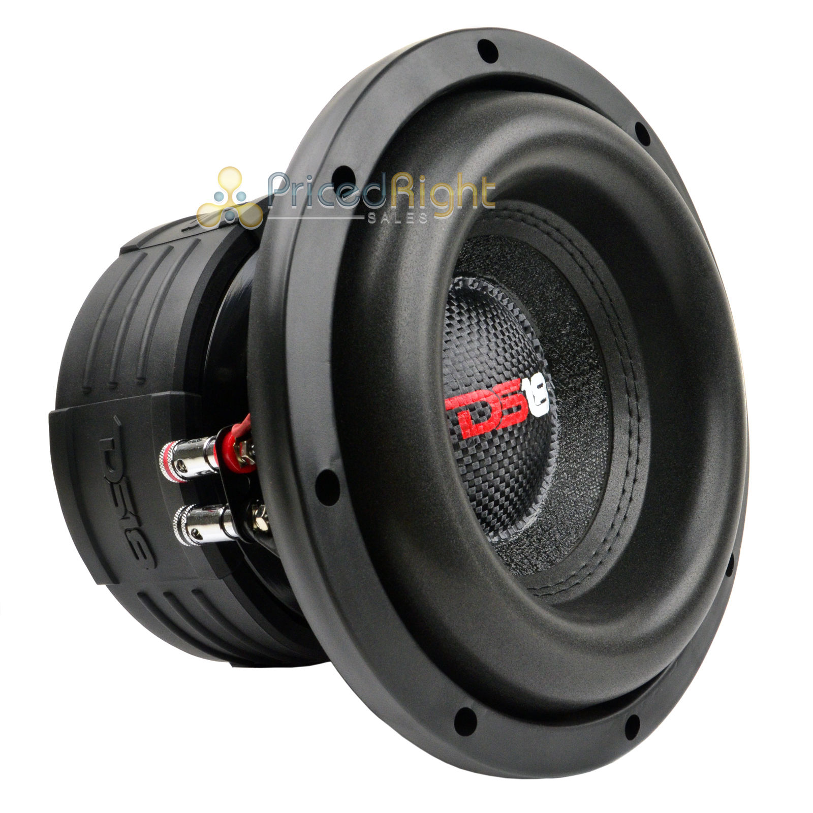 "DS18 Elite Z8 8"" Subwoofer Dual 4 Ohm 900 Watts Max Bass"